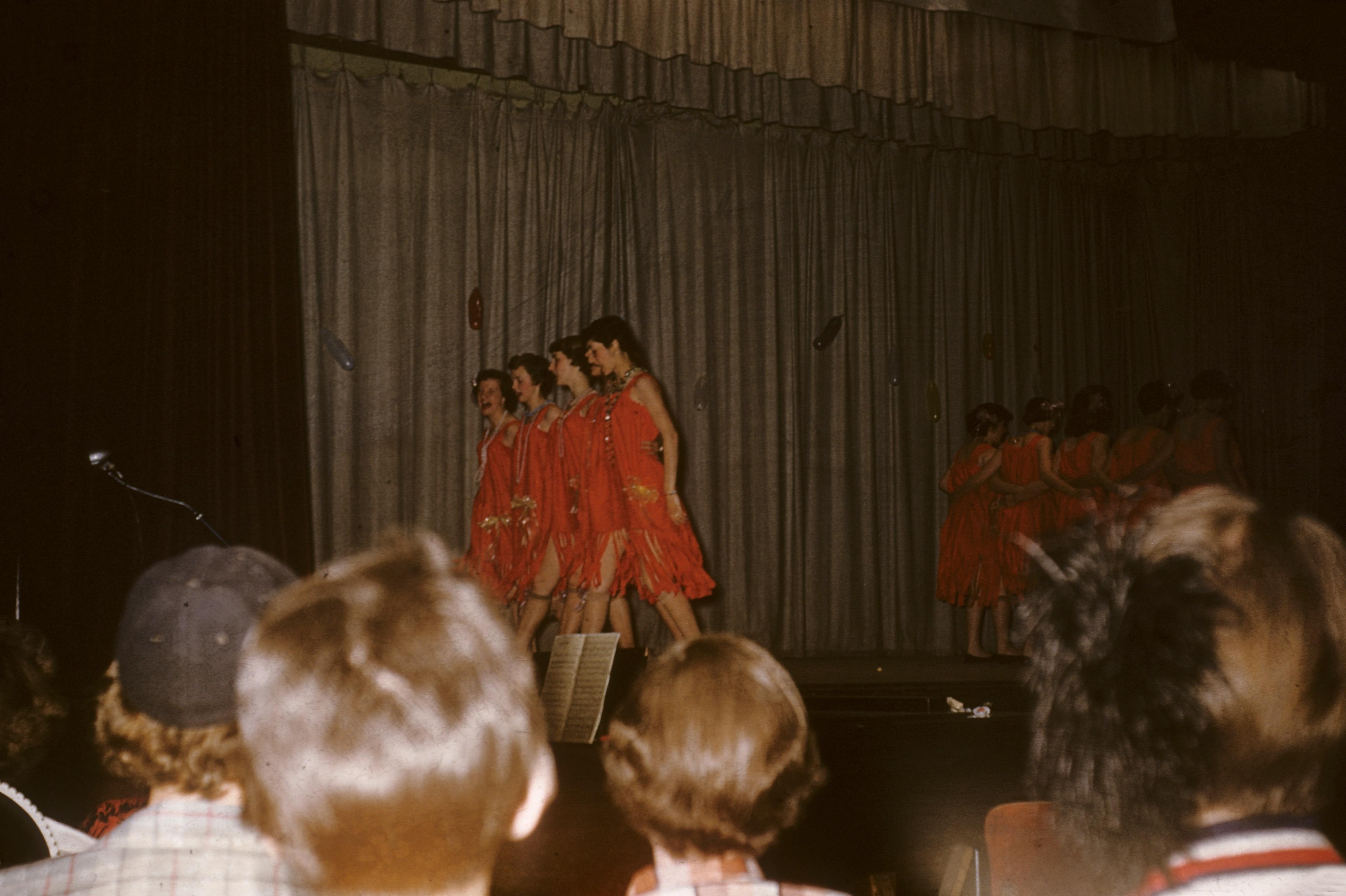 OHS 1955 Class Play 4