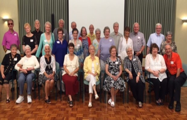 OHS Class of 1955 60th Reunion Photo Summer of 2015